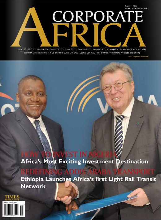 Corporate Africa Magazine Edition 63