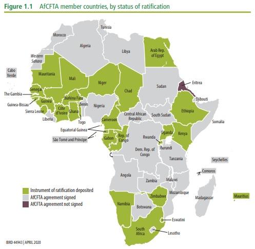 AFCFTA member countries